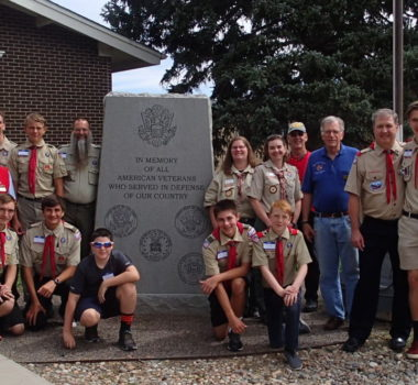 Boy Scouts and Cub Scouts visit the museum