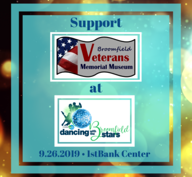 Support the Broomfield Veterans Memorial Museum at Dancing With the Stars