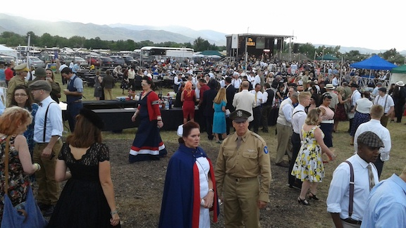 Thousands showed up to the 1940s Ball in Boulder